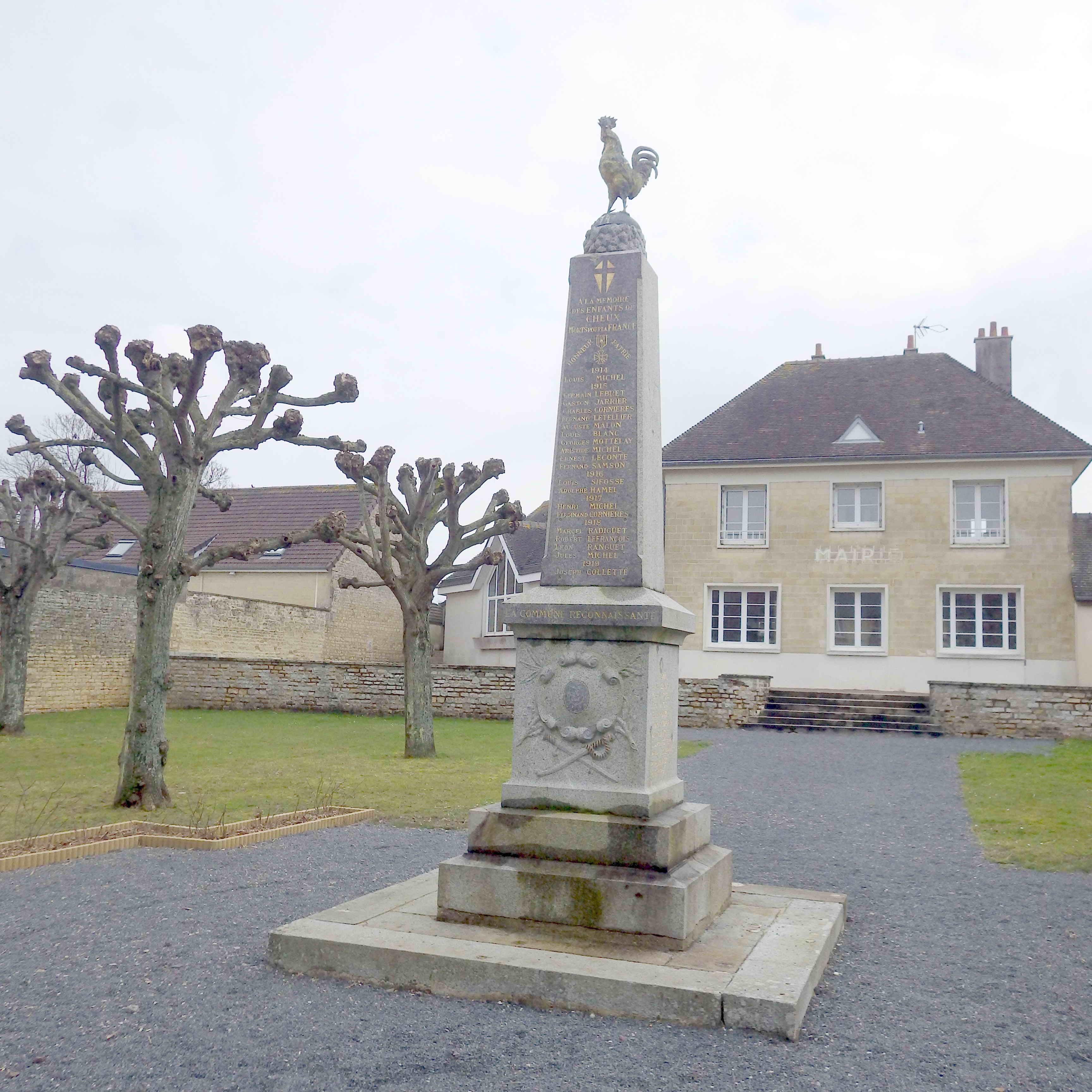 Monument aux Morts Cheux 14