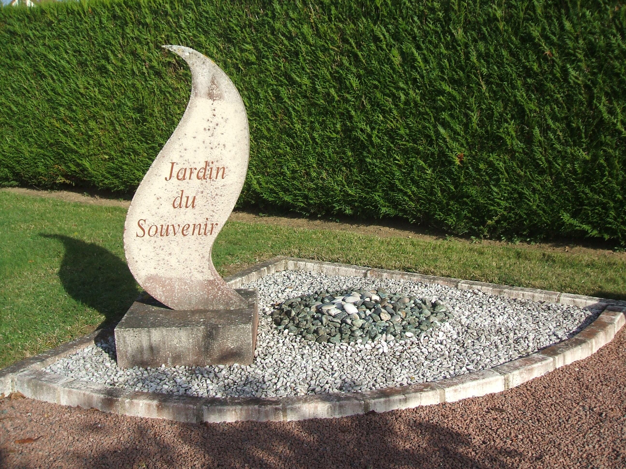 Jardin du Souvenir Mairie de Monnaie dep 37