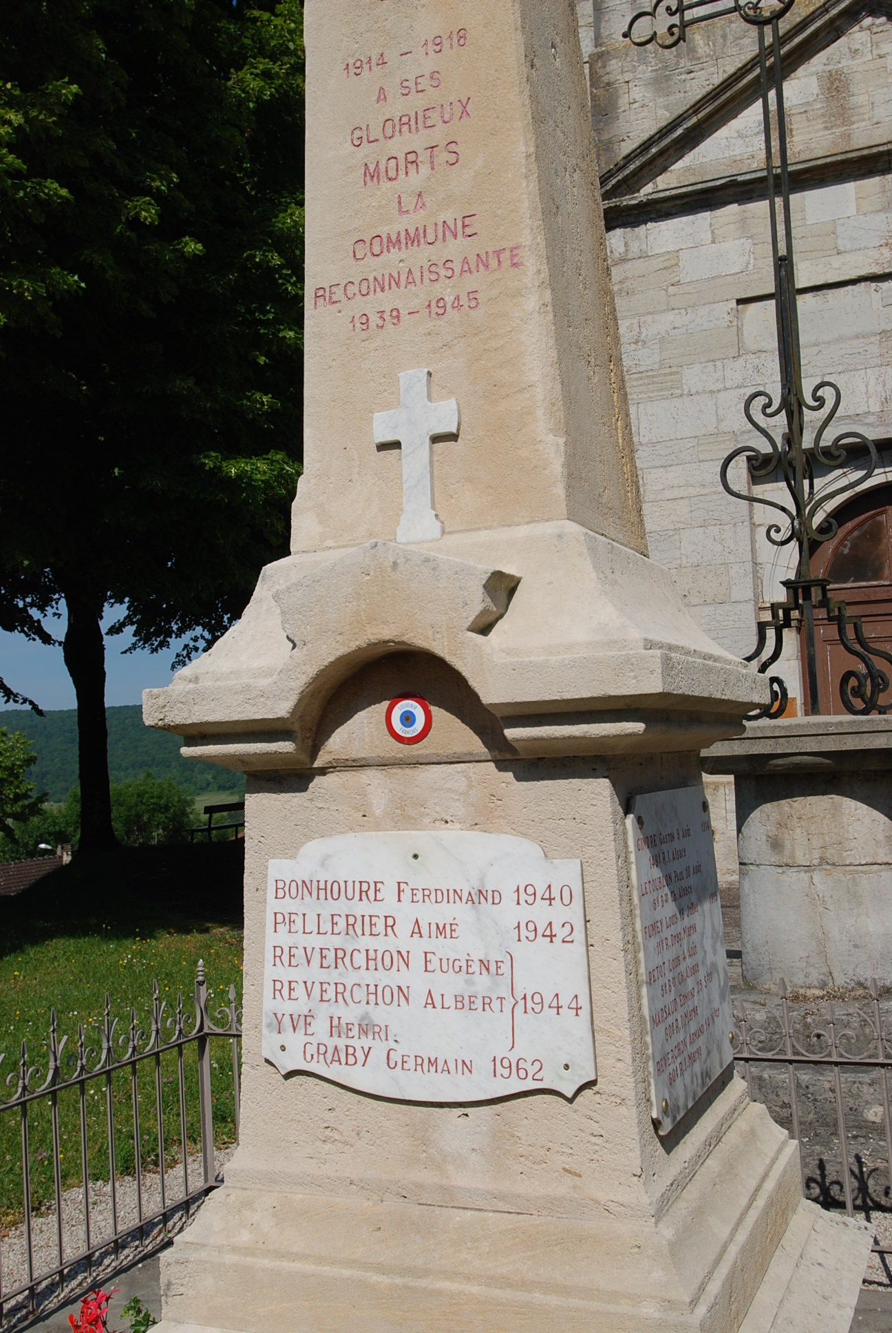 Monument aux Morts Crotenay