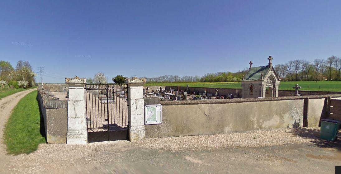 entrée du cimetière d'art-sur-meurthe