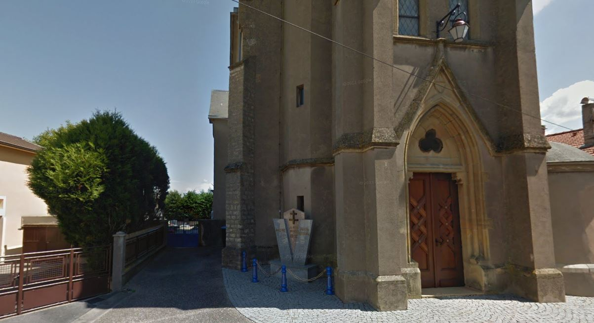 Cimetière Ancien de Malling adossé à l'église