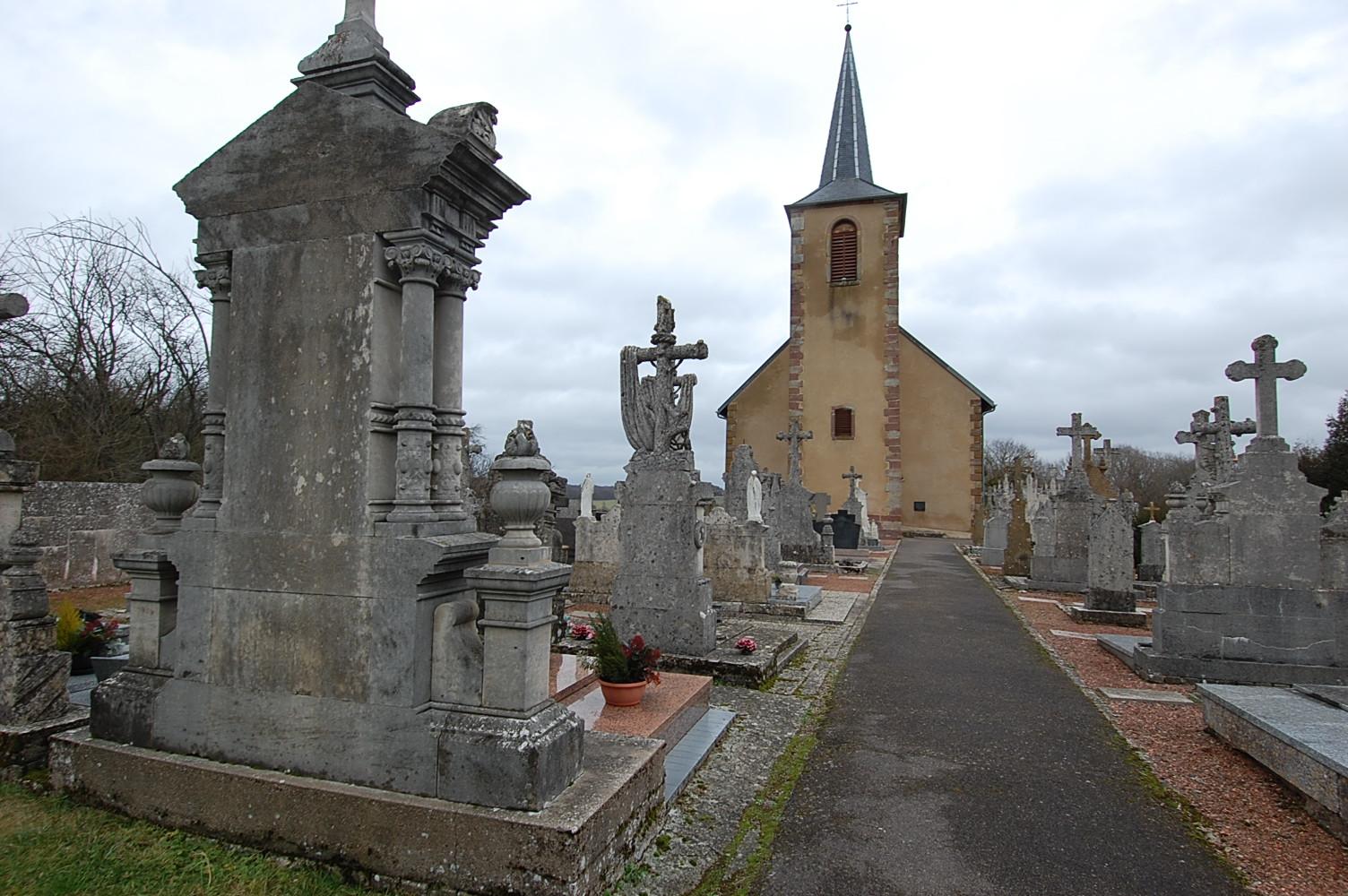 église et cimetière de Menskirch 57