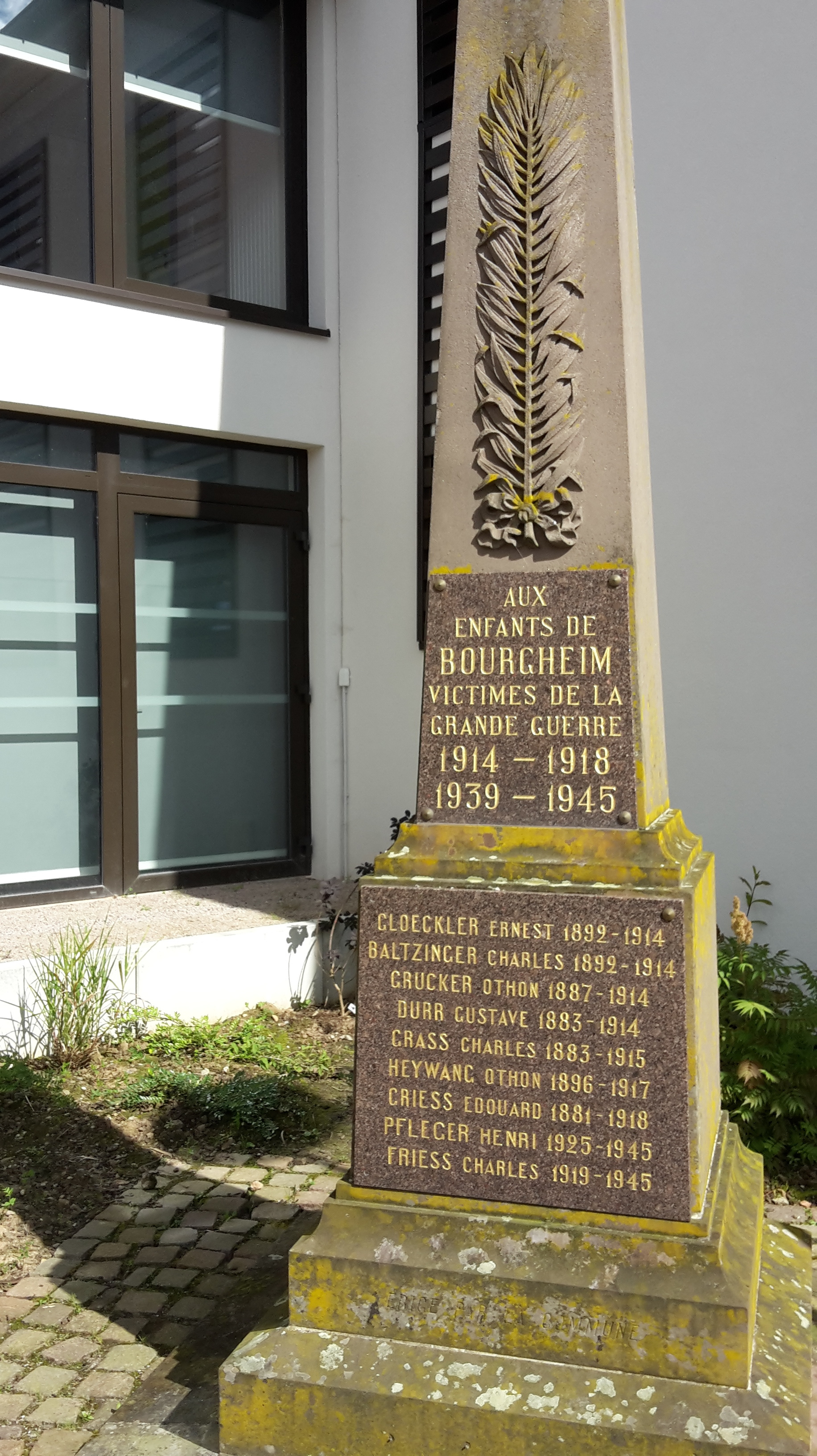 Monument aux Morts Bourgheim