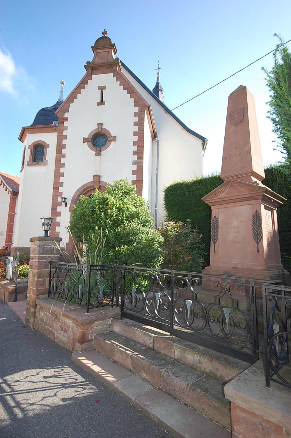Monument aux Morts Ittenheim 67117