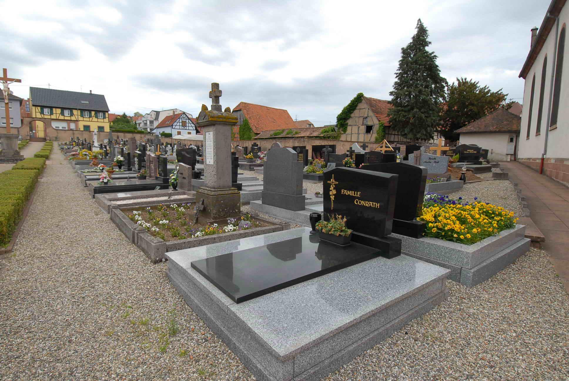 Cimetière de Mommenheim 67