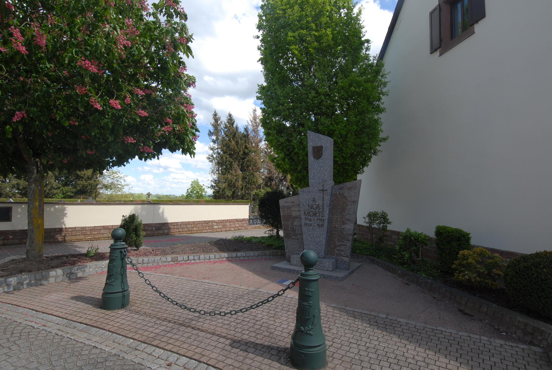 Monument aux Morts Munchhausen 67470