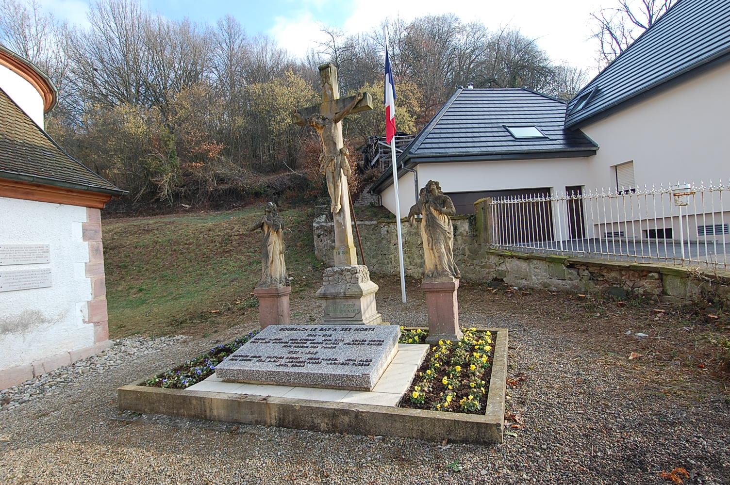 Monument aux Morts Bourbach-le-Bas 68290
