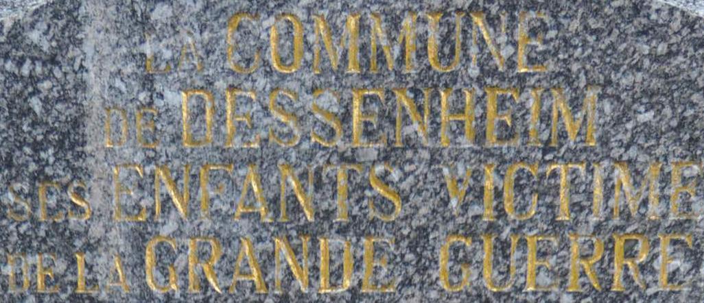 Monument aux Morts Dessenheim