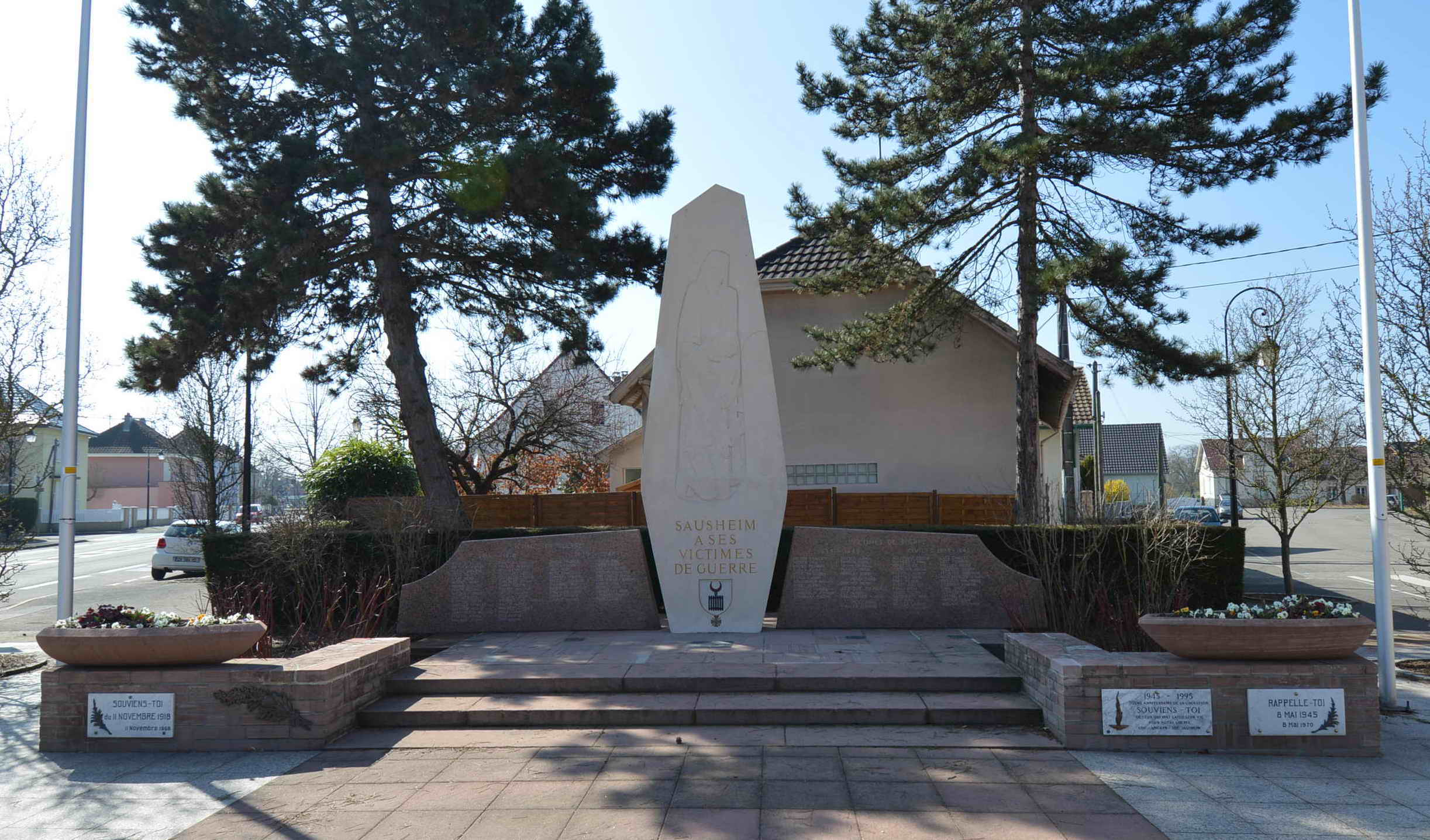 Monument aux Morts Sausheim 68390