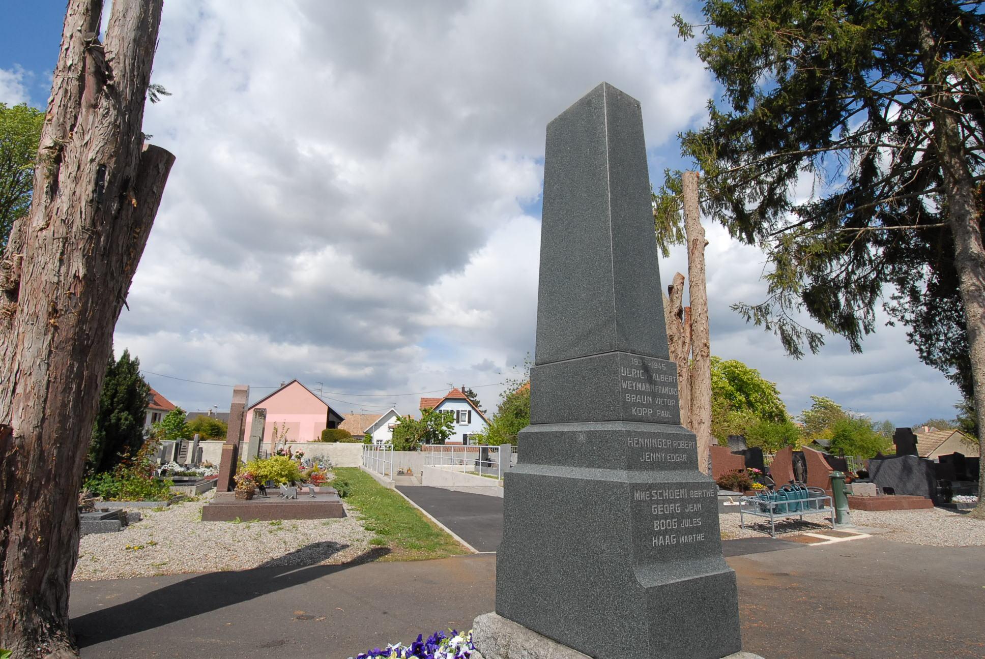 Monument aux Morts Volgelsheim 68600